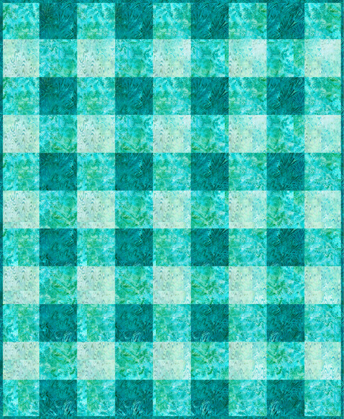 Easy Plaid Quilt – Free Pattern