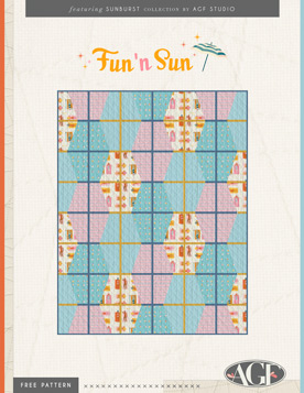 Fun in the Sun Free Quilt Pattern