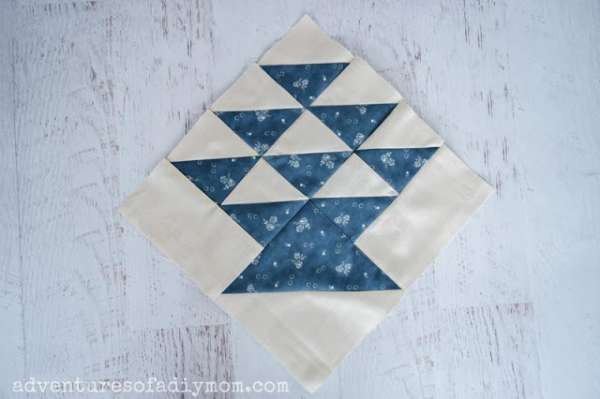 How to Make the Basket Quilt Block
