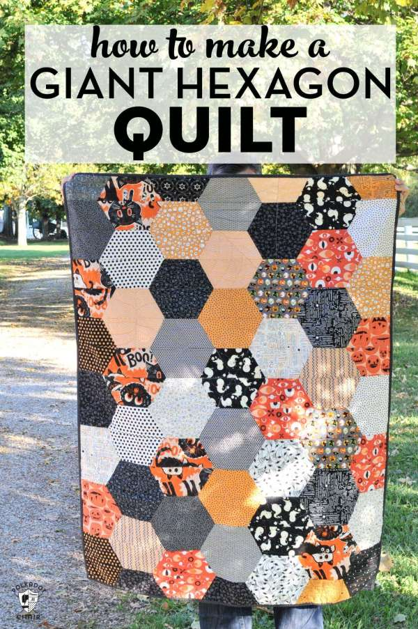 Hexagon Quilt Tutorial and Free Pattern
