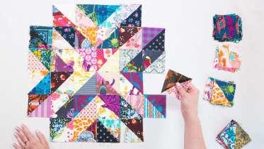 Scrap Fabric Quilt Making Class
