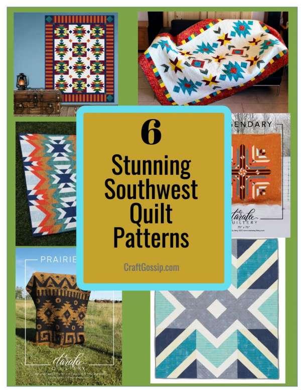 6 Stunning Southwest Inspired Quilt Patterns