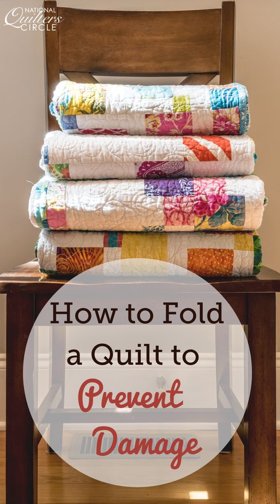 How to Fold Quilts Correctly