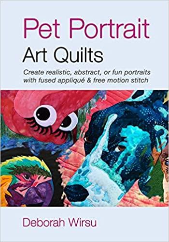 Book Review – Pet Portrait Art Quilts