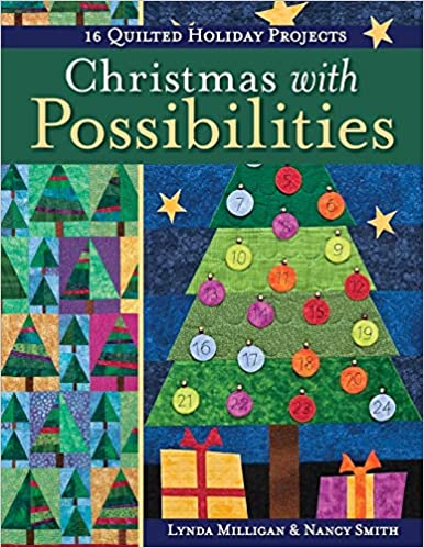 Book Review – Christmas with Possibilities: 16 Quilted Holiday Projects