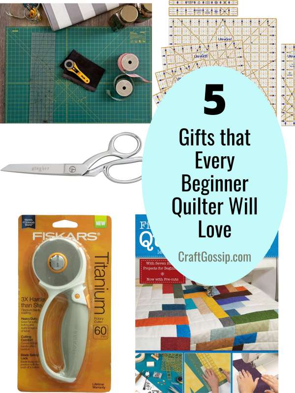 5 Gifts That Every Beginner Quilter Will Love